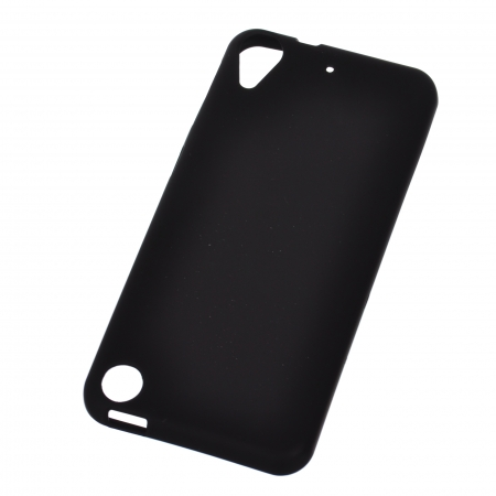 Carcasa Silicon Color pentru HTC Desire 530, HTC Desire 630, Negru
