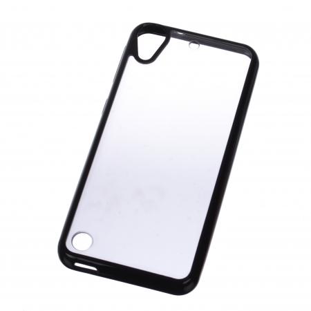 Carcasa TPU + Acrilic pentru HTC Desire 530, HTC Desire 630, Negru