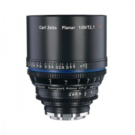Carl Zeiss CP.2  2.1/100 CF T* - montura Canon EF metric