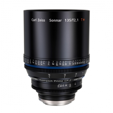 Carl Zeiss CP.2  2.1/135 T* - montura Canon EF metric