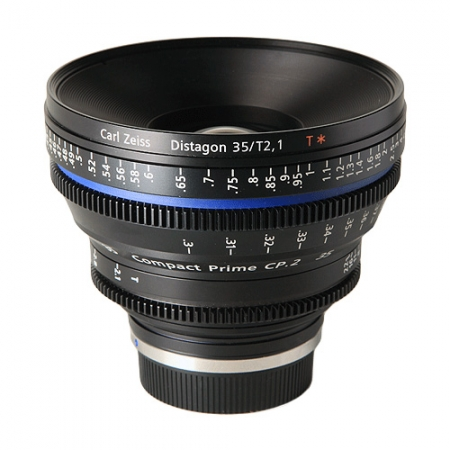Carl Zeiss CP.2  2.1/35 T* - montura Canon EF metric
