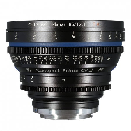 Carl Zeiss CP.2  2.1/85 T* - montura Canon EF metric