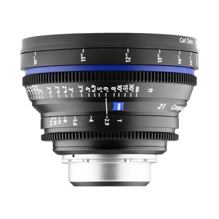 Carl Zeiss CP.2  2.9/21 T* - montura Canon EF metric