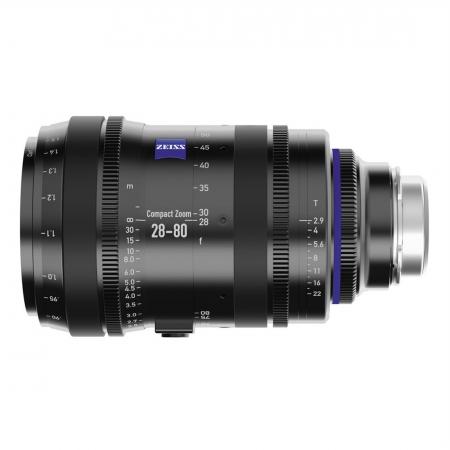 Carl Zeiss CZ.2 28-80/T2.9 metric - montura Canon EF