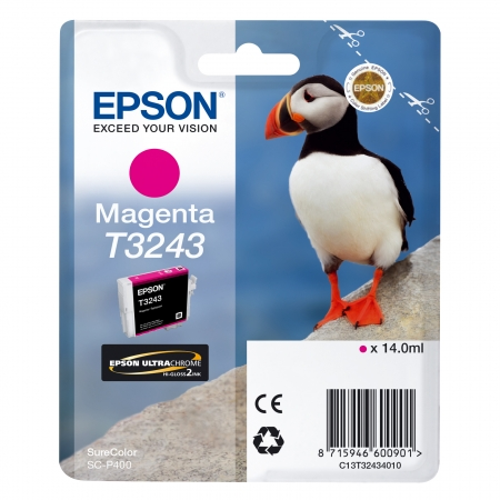 Epson T3243 - Cerneala Magenta Epson SC-P400