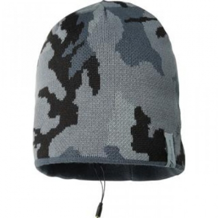 Cellular Line MUSIC CAP - Caciula cu casti stereo si microfon - camuflaj