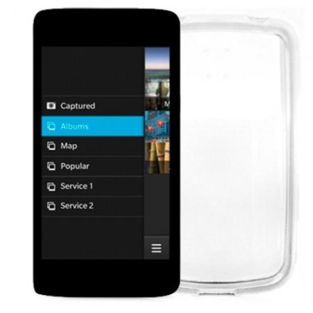 Celly Husa Capac spate - BlackBerry Z10, transparent