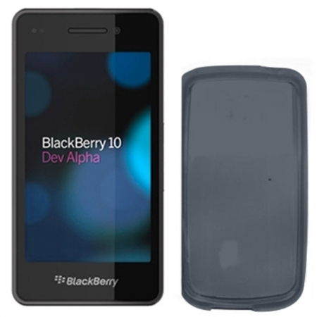 Celly Husa Capac spate - Blackberry Z10, negru
