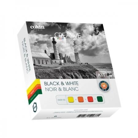 Cokin Creative 4 B&W Filter Kit Sistem P