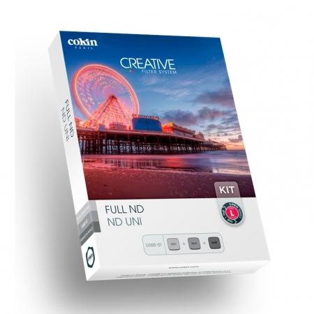 Cokin Creative Full ND L - Kit fotografie expunere lunga, Sistem Z-PRO