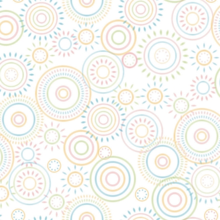 Creativity Backgrounds P2515 Hopscotch Circles - fundal carton 1.22 x 3.65m