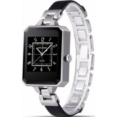 Cronos Fashion Leto - Smartwatch - negru-argintiu