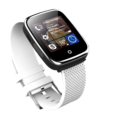 Cronos Heart Beat - SmartWatch cu SIM - alb