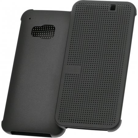 Cronos Husa Dot View HTC One M9 - Negru