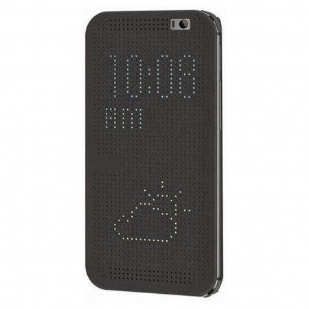 Cronos Husa Dot View pentru HTC One A9 - gri