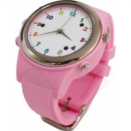 Cronos iWearDigital Kids TD01 - Smartwatch cu GPS si SIM - Roz