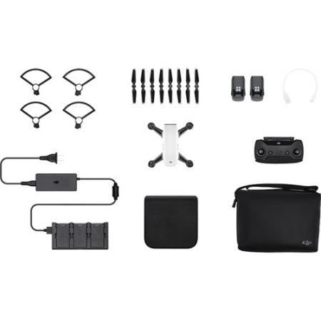 DJI Spark Fly More Combo, Alb