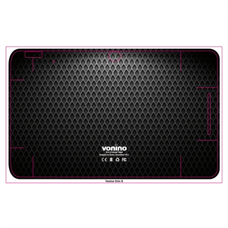 Vonino Grid-design - folie de protectie pentru Vonino Orin S7''