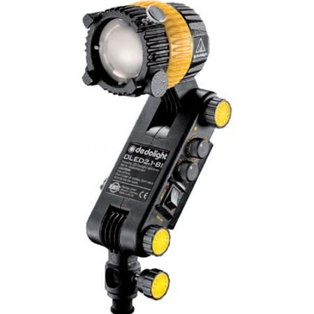 Dedolight DLED 2.1 BI - Lampa LED Bicolora 25W Dimabila cu Alimentare la Baterie
