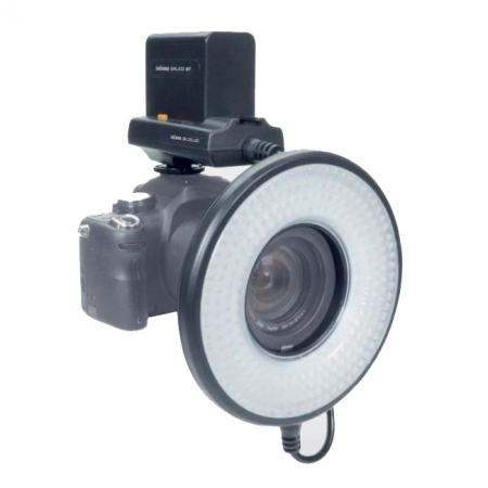 Dorr LED DRL-232 Ring Light cu Battery Box