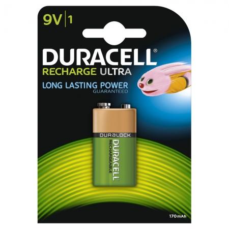 Duracell - Acumulator 9V, 170mAh