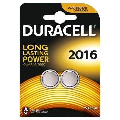 Duracell Baterie lithiu 2x2016