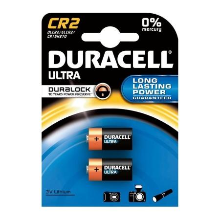 Duracell CR2 - set 2 baterii alcaline