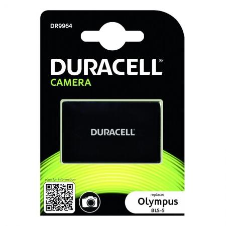 Duracell DR9964 - Acumulator replace Li-Ion tip Olympus BLS-5, 1050 mAh