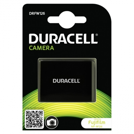 Duracell DRFW126 - Acumulator replace Li-Ion tip Fujifilm NP-W126, 1000 mAh