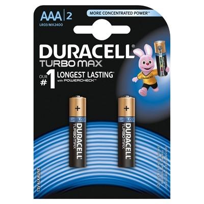 Duracell Turbo Max - Baterie AAA LR03, 2 buc.