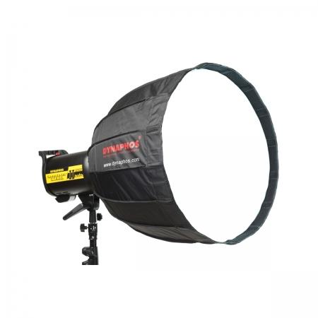Dynaphos - Softbox parabolic, portabil, deep, 50 cm, Bowens