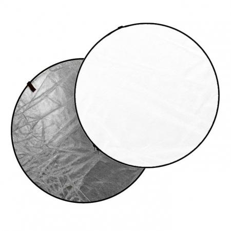 Dynaphos Blenda 2in1, Alb/Argintiu, 110cm