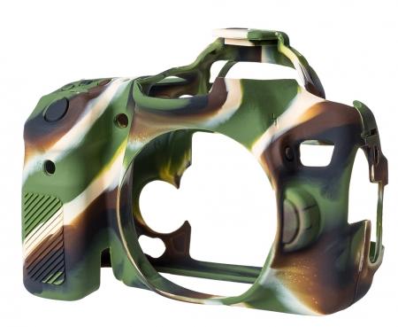 EasyCover Canon 70D - carcasa protectie camuflaj