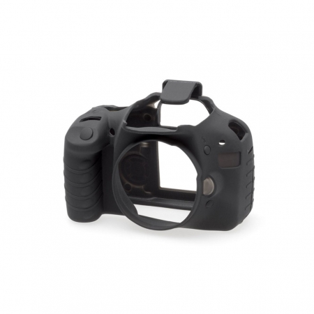 EasyCover - Carcasa protectie pentru Canon 550D, Negru