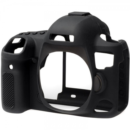 EasyCover - Carcasa protectie pentru Canon 5D mark IV, Negru