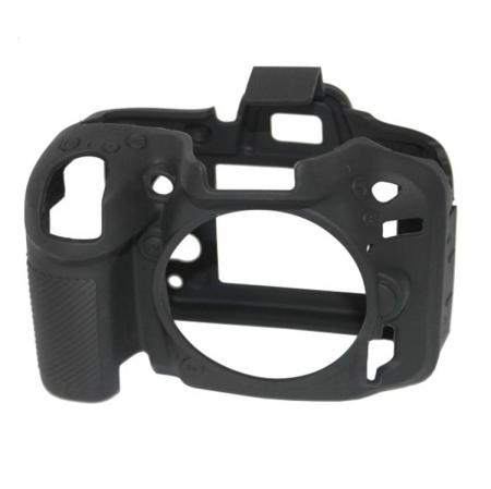 EasyCover Nikon D7100/ D7200 -  carcasa protectie - Negru
