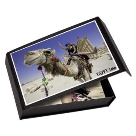 Easygifts Box - negru, 10x15cm, 100 fotografii