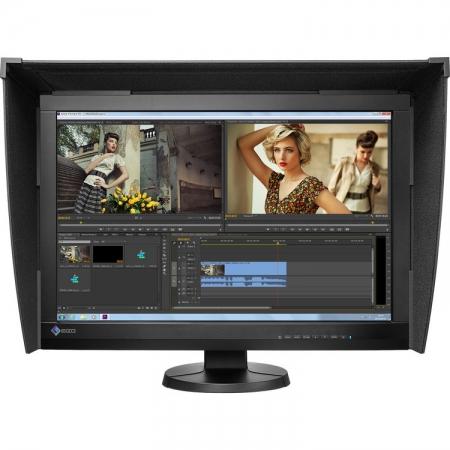 Eizo ColorEdge CG247X - Monitor profesional 24.1'', Full HD, Negru