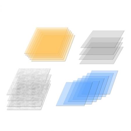 Elinchrom #26255 Set 20 filtre CORECTIE 21cm RS12806914