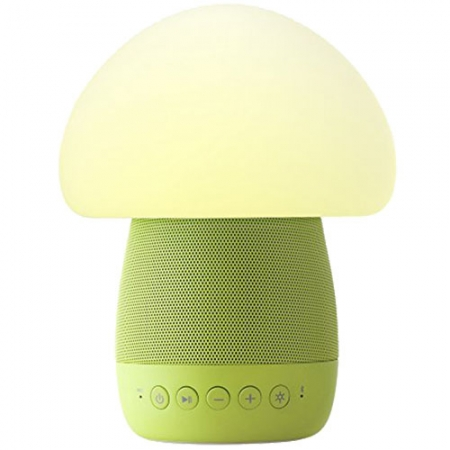 Emoi Mushroom - Lampa Smart Led cu Senzor De Noapte si Boxa Wireless