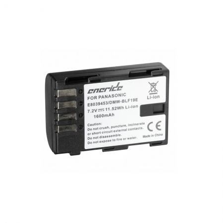 Eneride - Acumulator replace tip DMW-BLF19 pentru Lumix DMC-GH4, 1600mAh