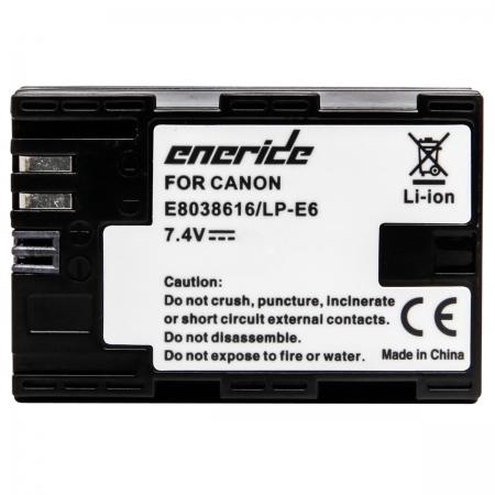 Eneride - Acumulator tip replace pentru Canon LP-E6, 1300mAh