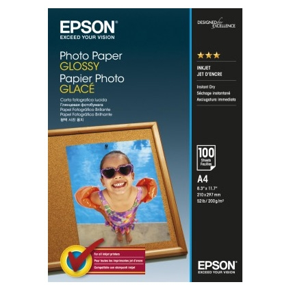 Epson Photo Paper Glossy C13S042540 A4, 100 coli, 200g