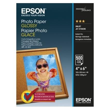 Epson Photo Paper Glossy C13S042549 10x15cm, 500 coli, 200g