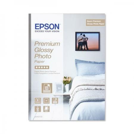 Epson Premium Glossy S042155 - hartie foto A4 15 coli 255g/m²