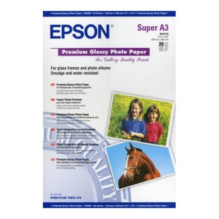 Epson Premium Glossy hartie foto A3+ - 20 coli - 255g/mp (S041316)