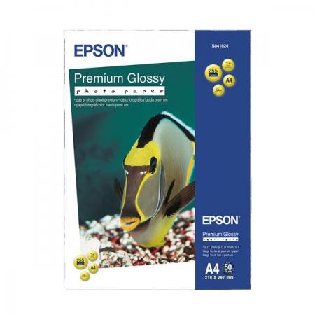Epson Premium Glossy hartie foto A4 - 50 coli - 255g/mp (S041624)