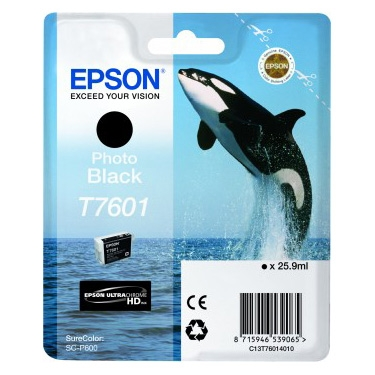 Epson T7601 - Cartus Photo Black pentru Epson P600
