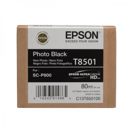 Epson T8501 - Cartus Photo Black pentru SC-P800