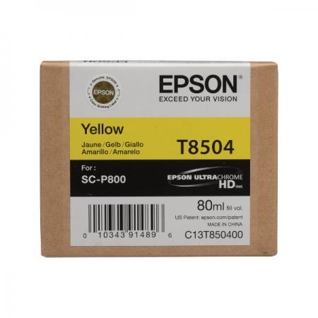 Epson T8504 - Cartus Yellow pentru SC-P800